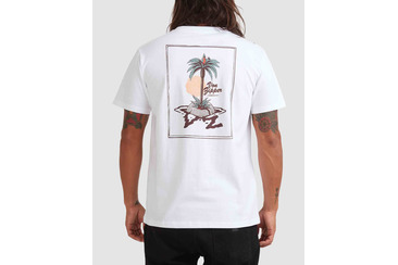 PARROT DISE SHORT SLEEVE TEE WHITE