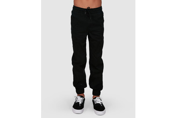 YOUTH CHILLIN DOG CHINO PANTS BLACK