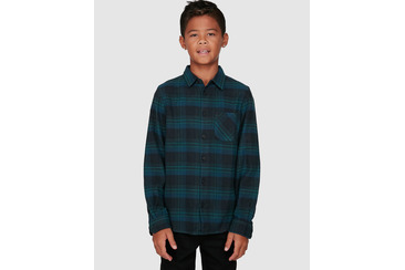 YOUTH VERTEX OVERSHIRT GREEN